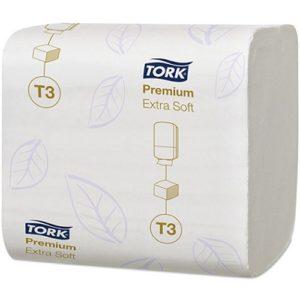 Tork Extra Soft Folded Toilet Paper Premium 2 Ply