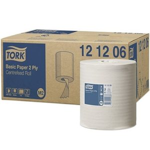 Tork Basic Perforated Paper Maxi Roll 2 Ply