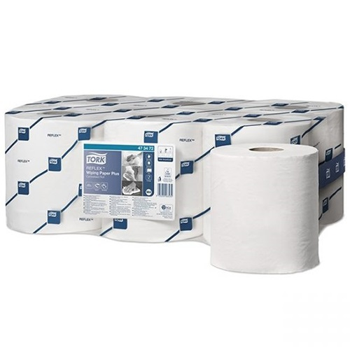 Tork Reflex Perforated Wiping Roll 2 Ply
