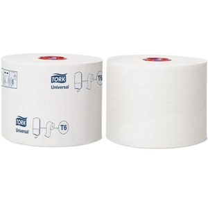Tork Mid Size Toilet Roll 1 Ply