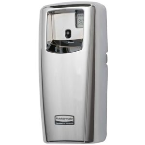 Automatic Air Freshener Aerosol Dispenser LED Chrome