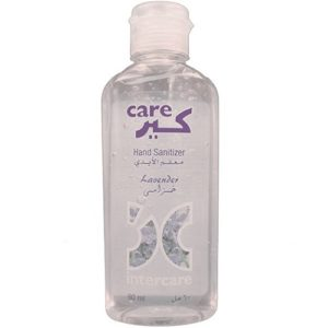 Hand Sanitizer Gel Lavender 60 ml Bottle