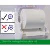 High Capacity Auto Cut Hand Towel Dispenser