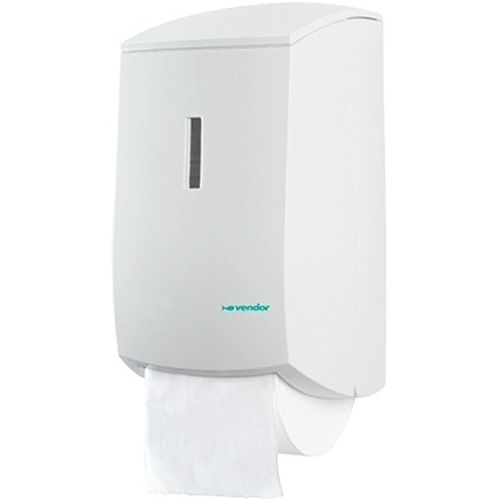 Vertical Toilet Roll Dispenser White