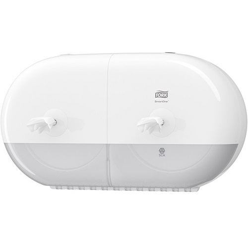 Tork SmartOne Twin Mini Toilet Roll Dispenser