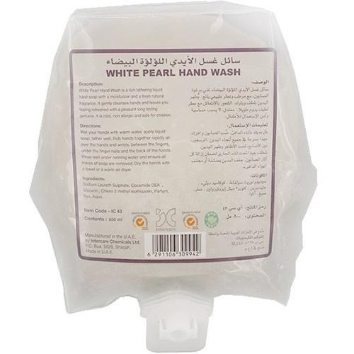 White Pearl Hand Wash 800 ml Pouch