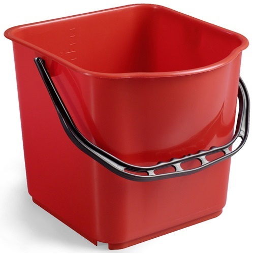 Single Plastic Bucket with Handle 15 Ltrs UAE Supplier