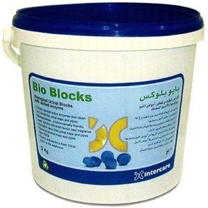 Biological Urinal Blocks Citrus Fragrance UAE Supplier