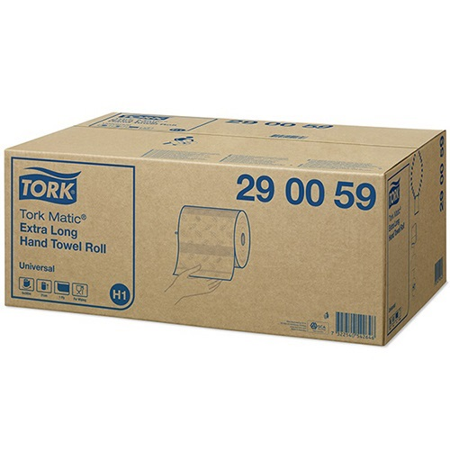 Tork Matic Extra Long Hand Towel Roll Universal 1 Ply