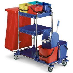 Multipurpose Chrome Trolley UAE Supplier