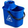 Single Plastic Bucket with Handle and Sieve 16 Ltrs UAE Supplier