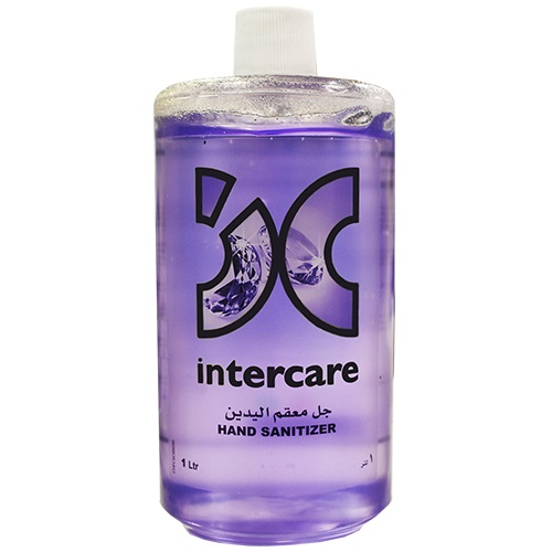 Hand Sanitizer Gel Lavender 1 Ltr Direct Fill Intercare
