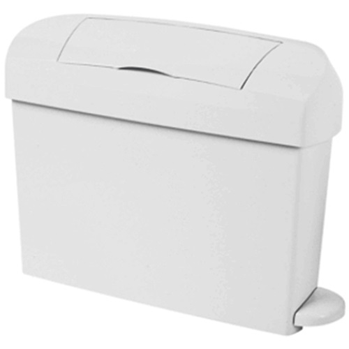 Intima White Lady Bin with Pedal 15 Ltrs