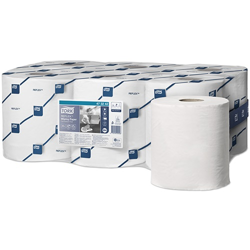 Tork Reflex Perforated Wiping Roll 1 Ply
