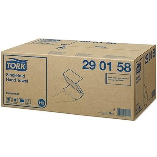 Tork Single Fold Hand Towel Universal 1 Ply