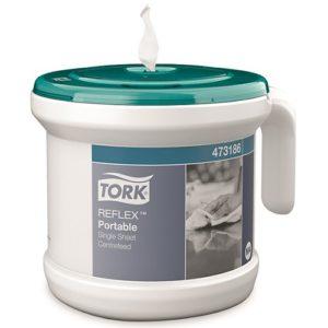 Tork Reflex Portable Single Sheet Centre Feed Dispenser