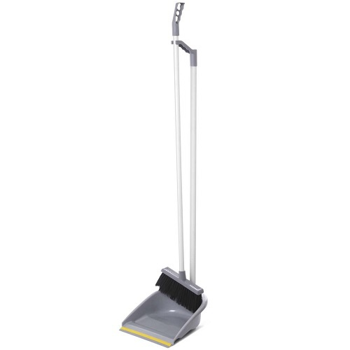 Household Dustpan Set with Broom, Handle and Clip