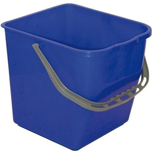Single Plastic Bucket with Handle 25 Ltrs