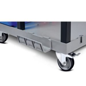 Serving Trolley with Cupboard Set