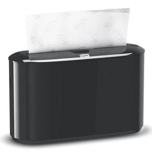 Tork Xpress Countertop Multifold Hand Towel Dispenser - Black