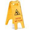 Caution Wet Floor Plastic Sign