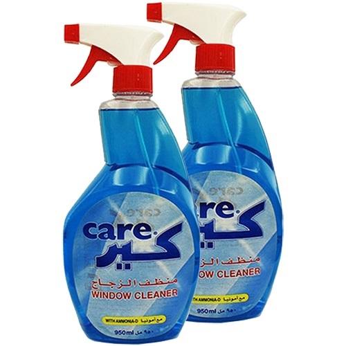 Liquid Window & Glass Cleaner Spray Pack 2x 950 ml