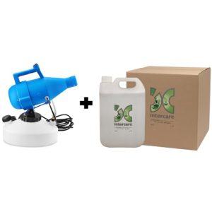 Single Nozzle Fogger + 1 box of Stericare Surface Disinfectant Sterilizer