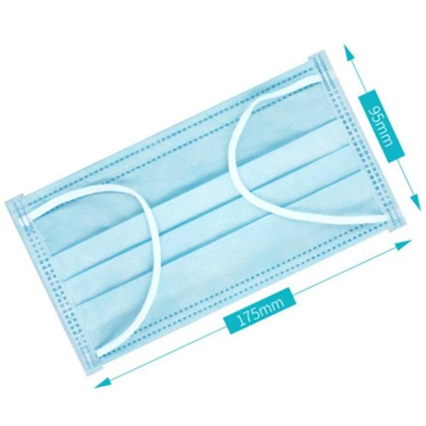 Disposable Face Mask 3 Ply – 50 PCs UAE Supplier