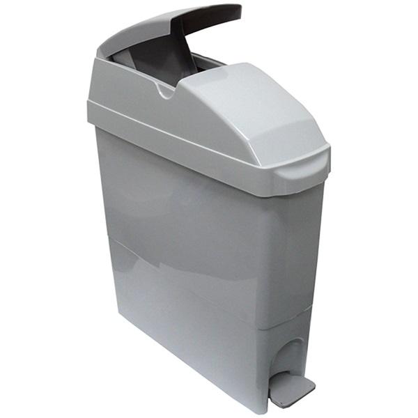 Grey Feminine Hygiene Bin with Pedal – 22 Ltrs