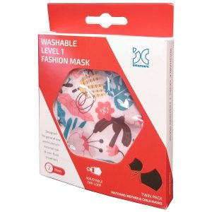 Washable Face Mask Level 1 – Twin Pack (Mother & Child)